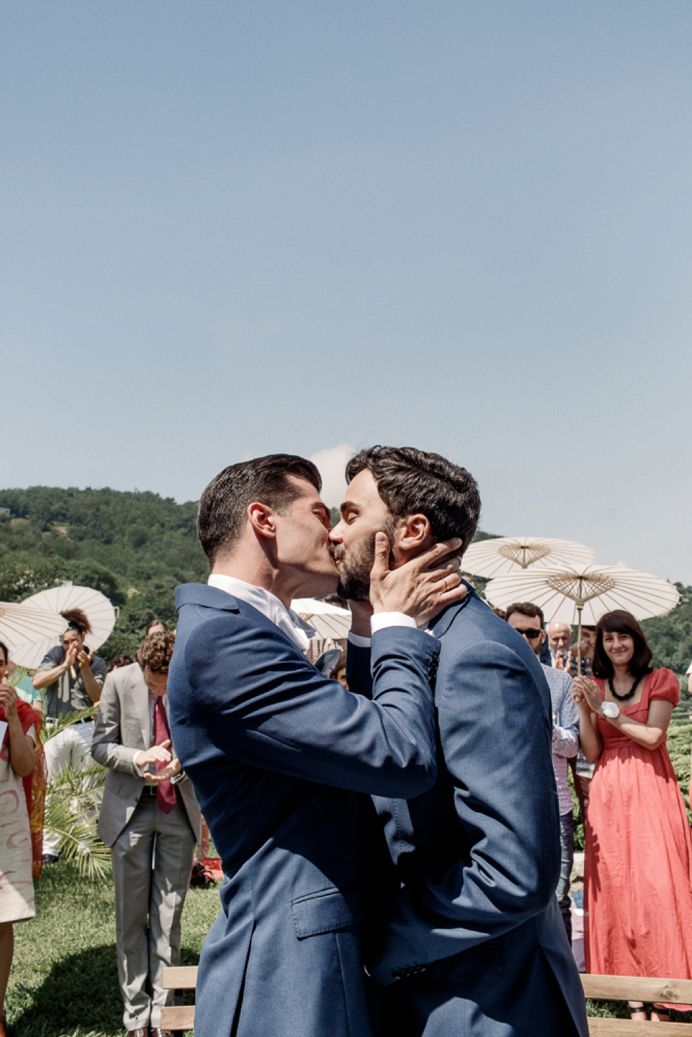 same sex italy wedding ceremony