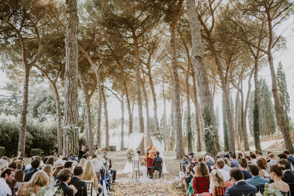 ceremony - buddhist wedding in italy