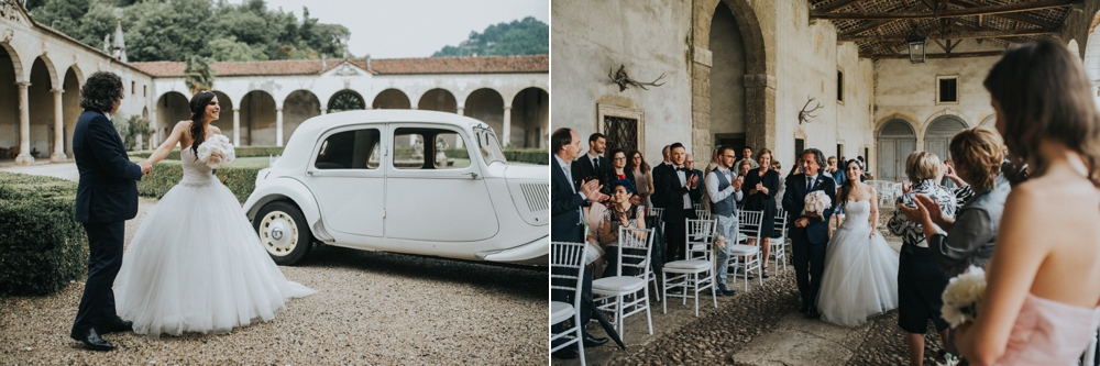Veneto Villa Wedding - ceremony