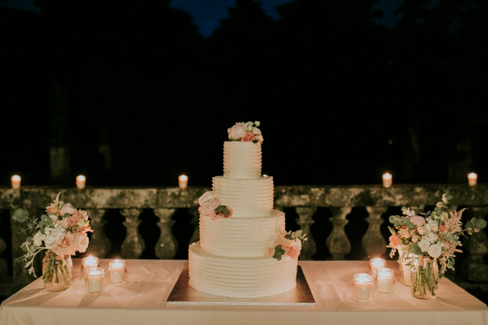Veneto Villa Wedding - cake