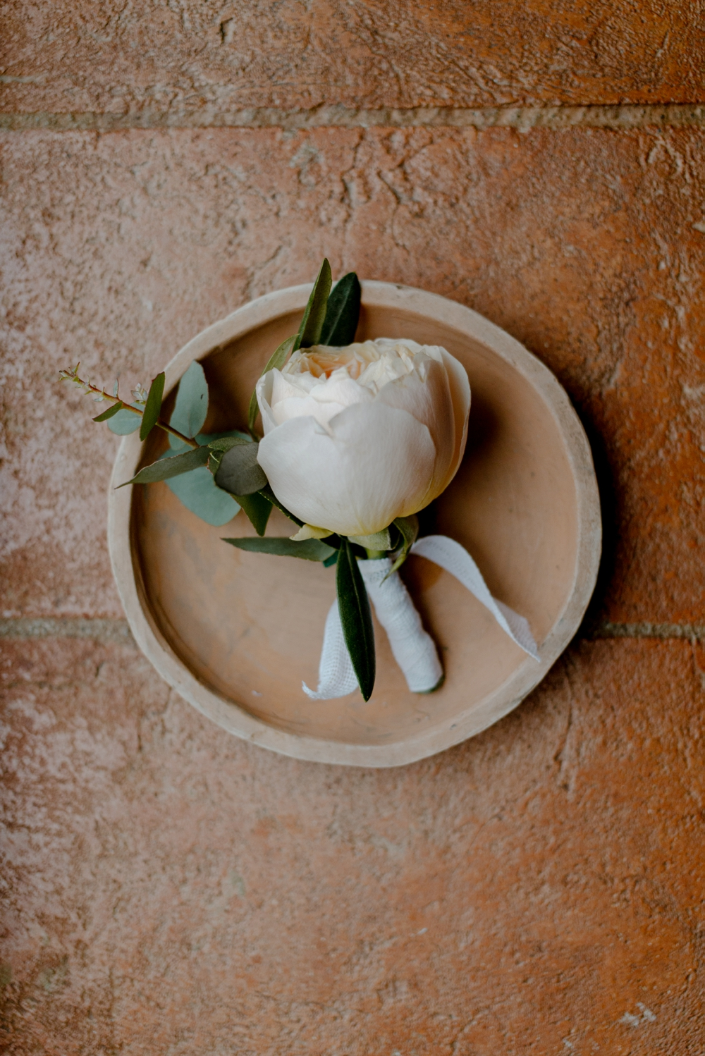 Boutonniere - Romantic Elopement in Tuscany - Laura Bravi Events