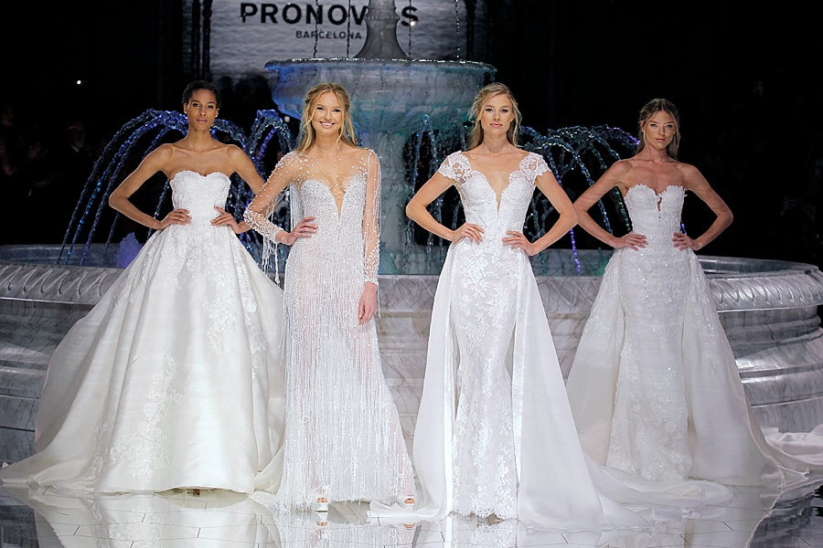 Pronovias 2018 Atelier Collection - Barcelona Bridal Week