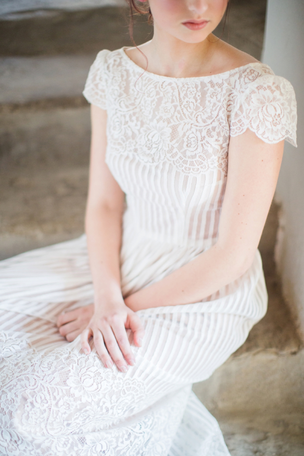 Tuscany intimate elopement bridal