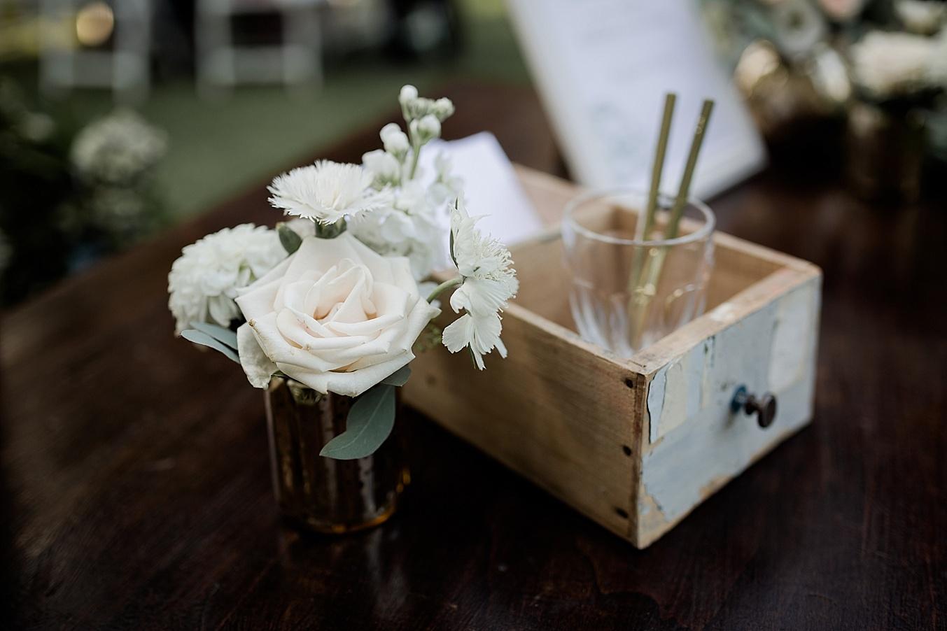 chic elegant wedding Italy detail