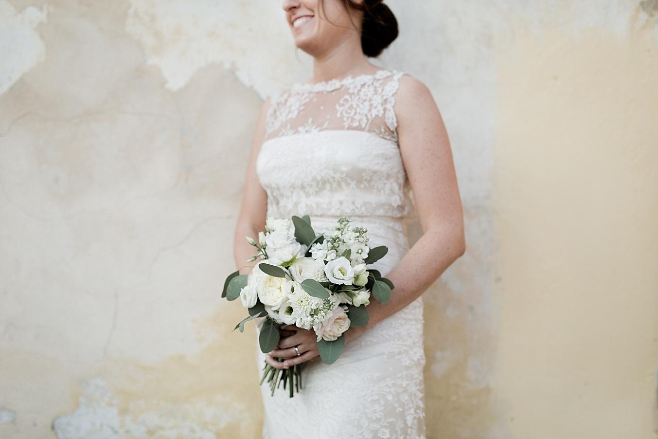 chic elegant wedding Italy bride