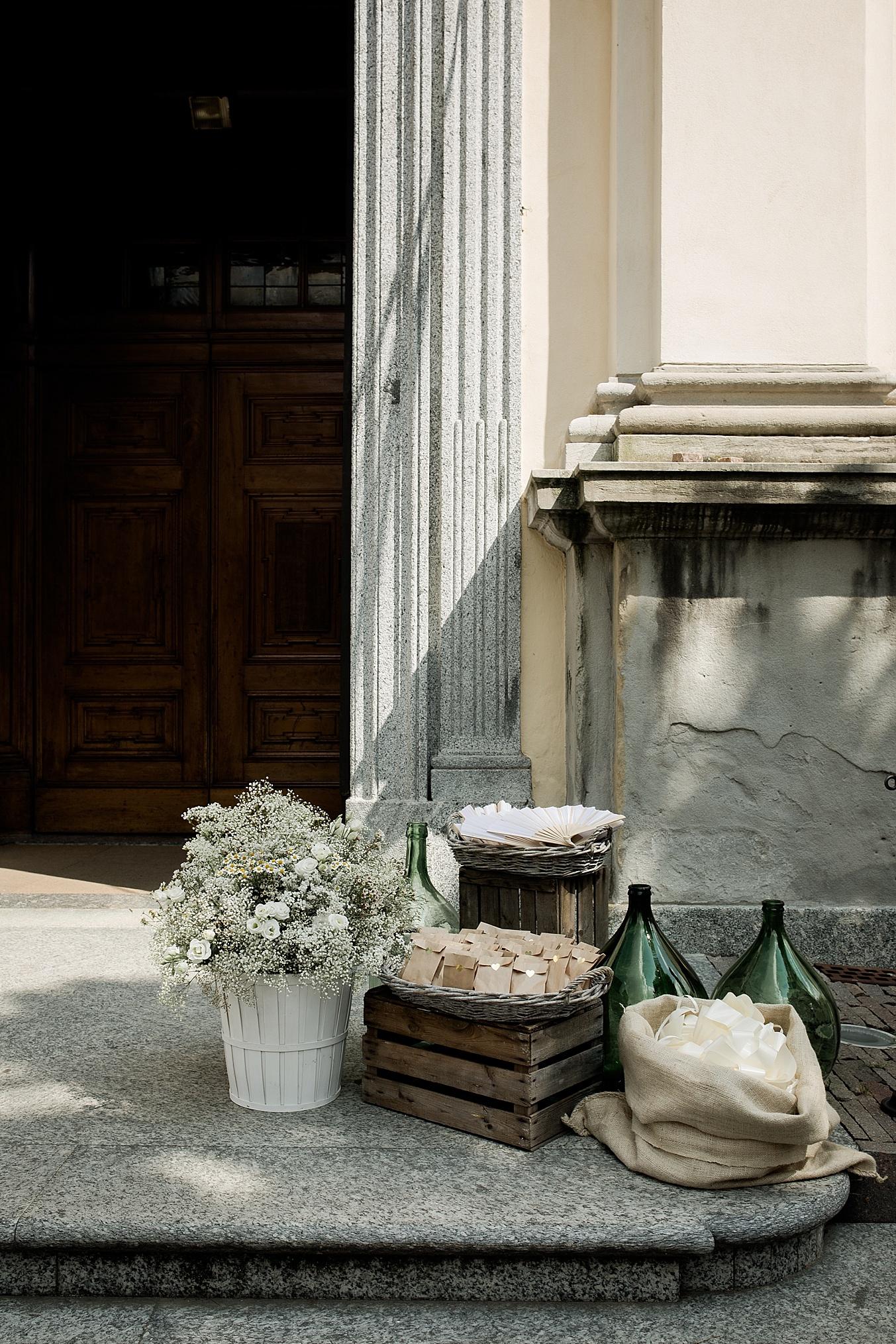 chic elegant wedding Italy