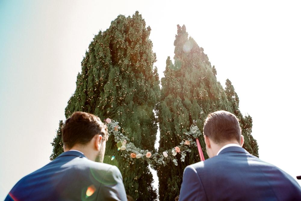 same sex italy wedding ceremony