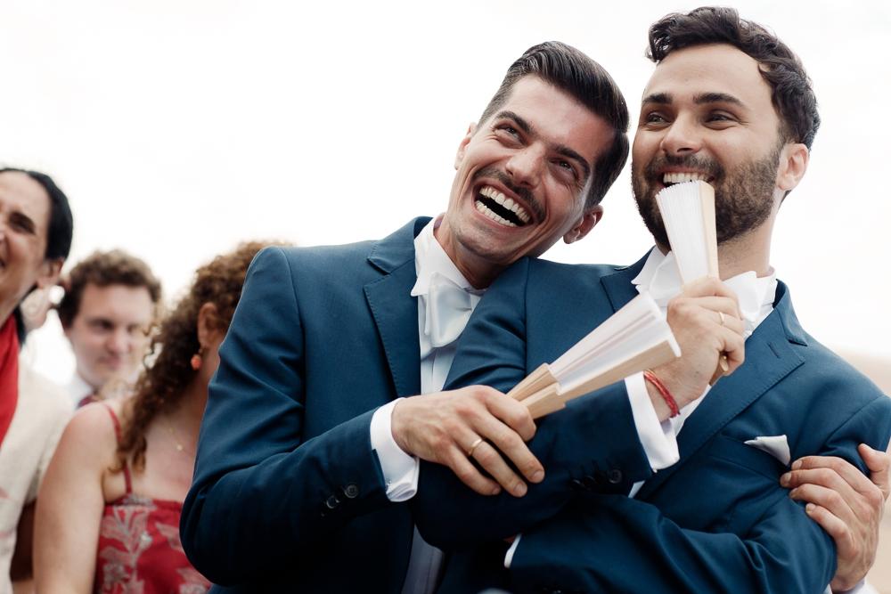 same sex italy wedding performance