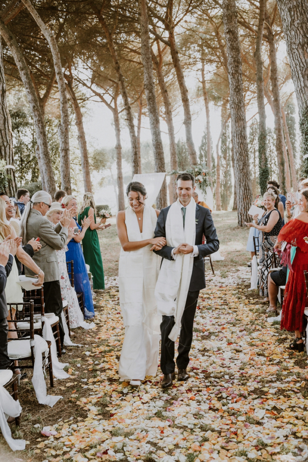 recessional - buddhist wedding in italy