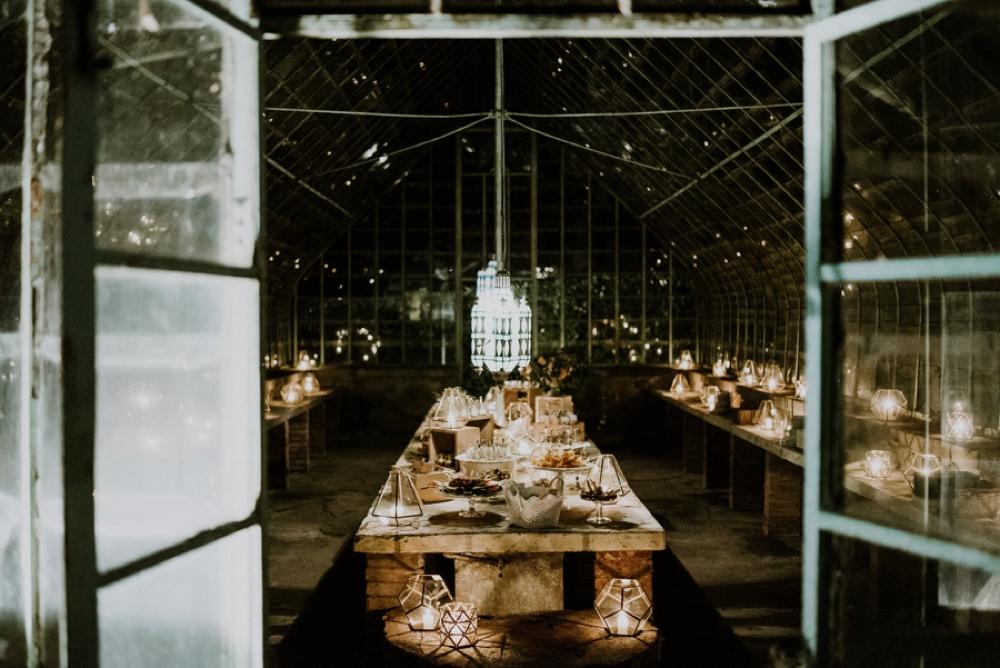 dessert buffet - buddhist wedding in italy
