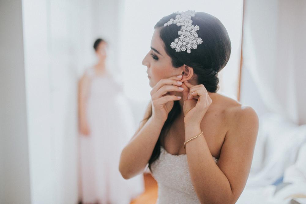 Veneto Villa Wedding - getting ready