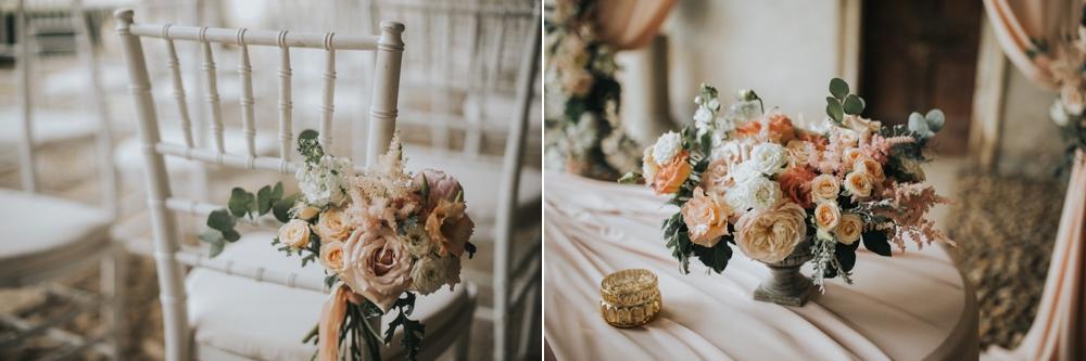 Veneto Villa Wedding - ceremony details