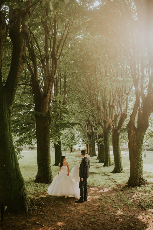 Veneto Villa Wedding - couple