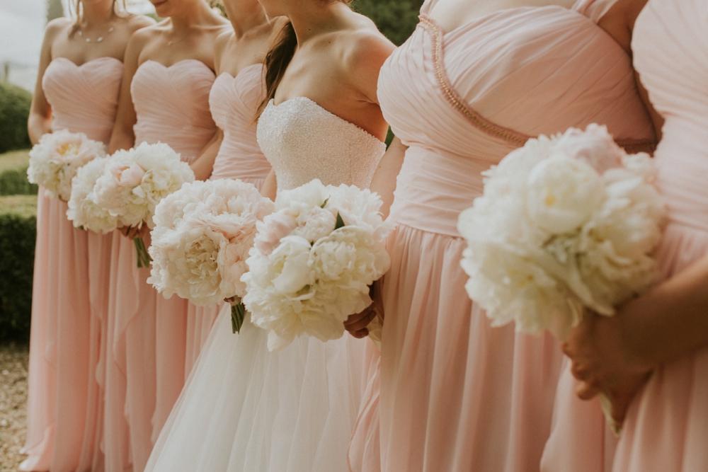 Veneto Villa Wedding - bridal party