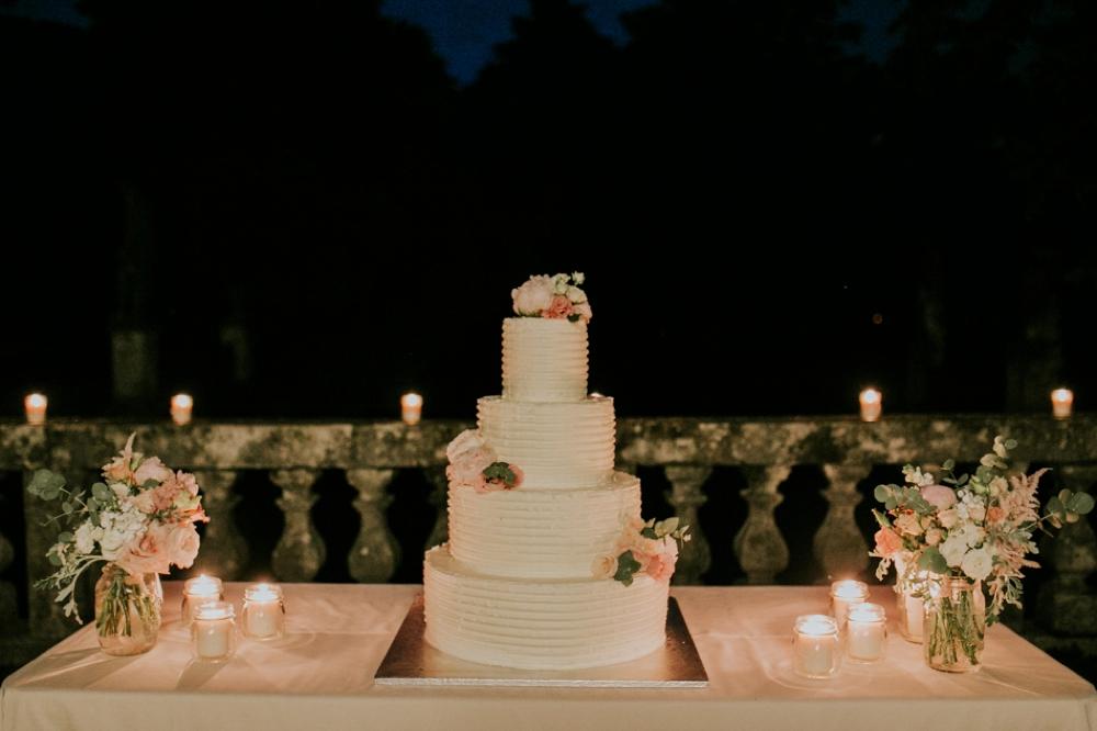 Veneto Villa Wedding - cake