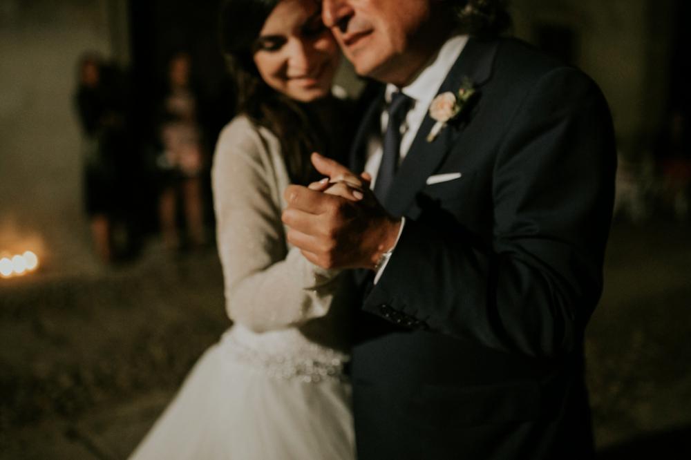 Veneto Villa Wedding - father daughter dance