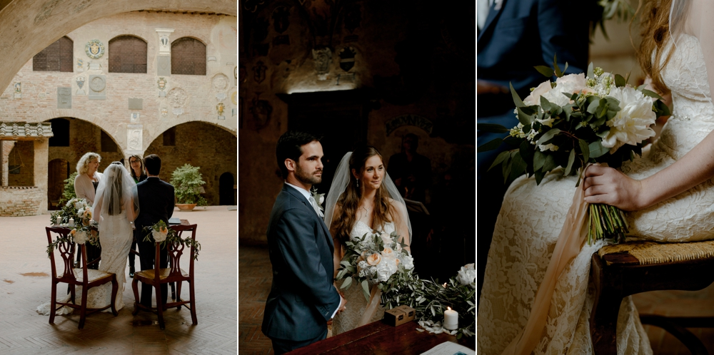 Certaldo town hall wedding - Romantic Elopement in Tuscany - Laura Bravi Events