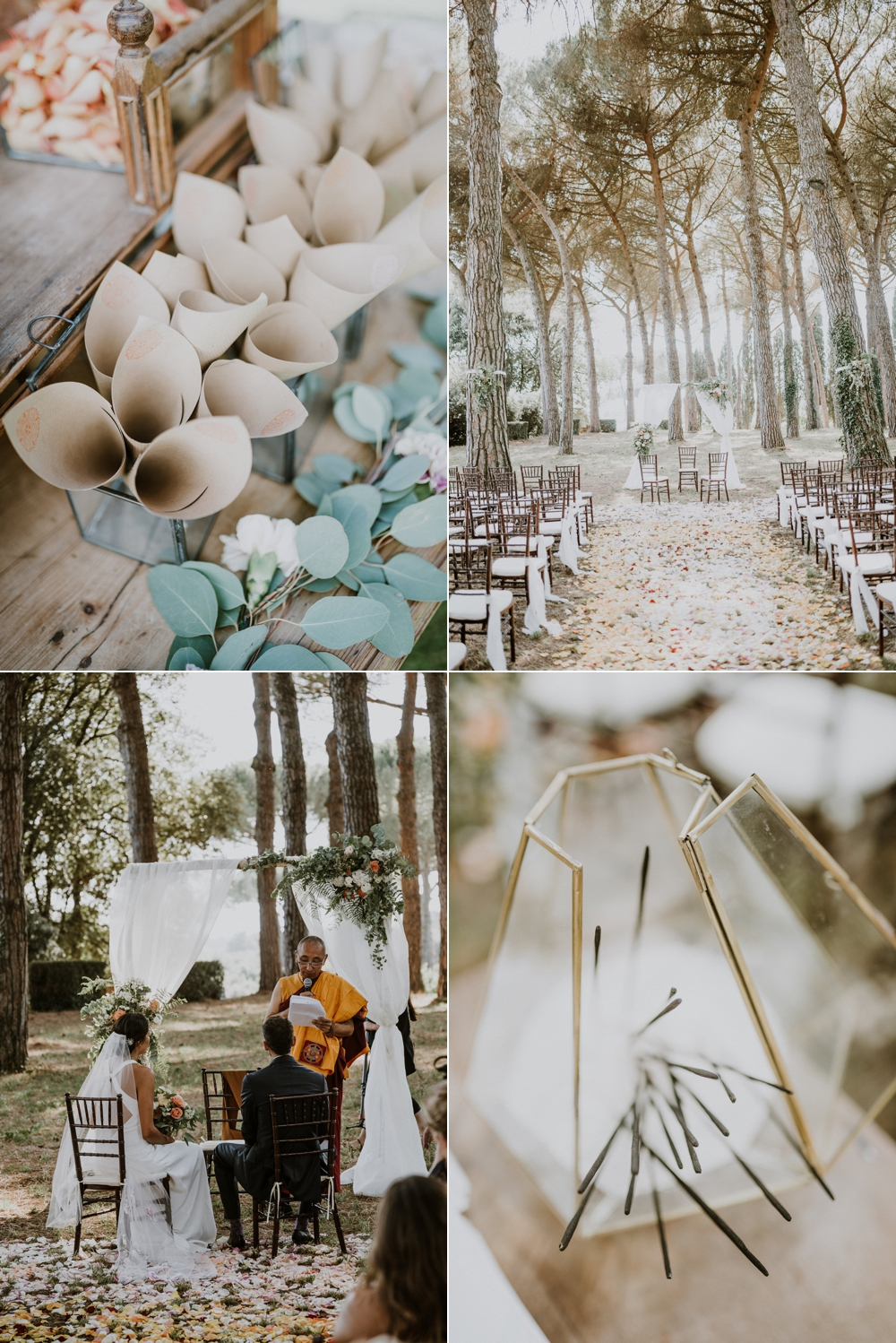 Buddhits wedding ceremony in Italy- Laura Bravi Events