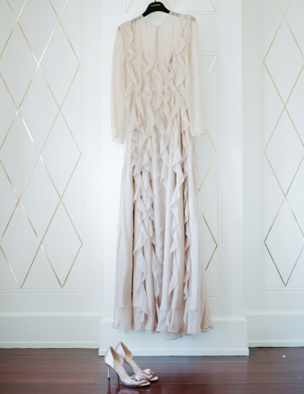 Valentino wedding dress - florence wedding planner