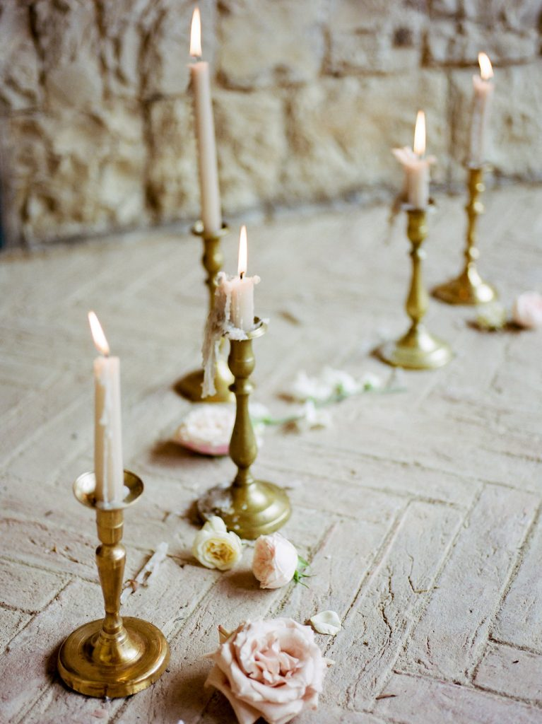 tapered candles ceremony