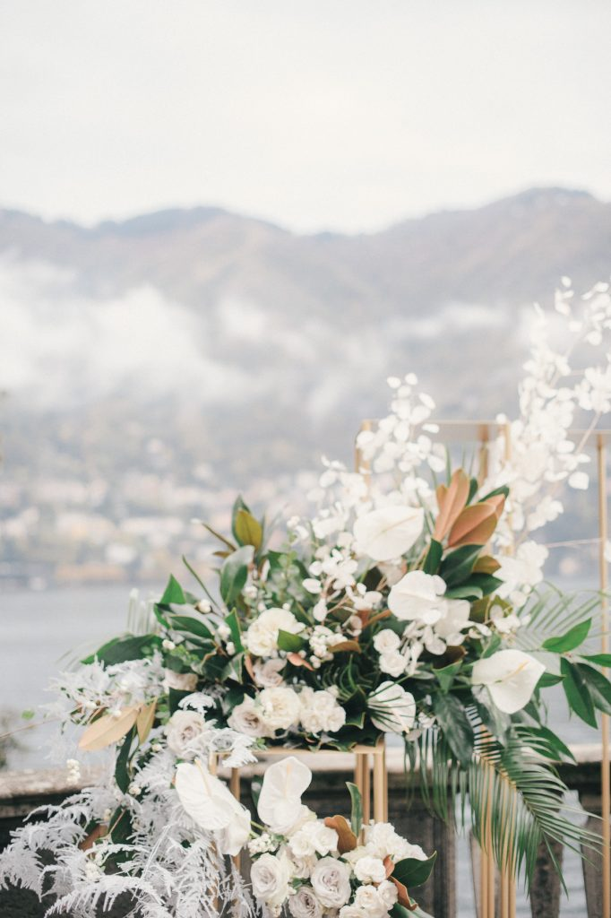 Villa Pizzo Wedding ceremony